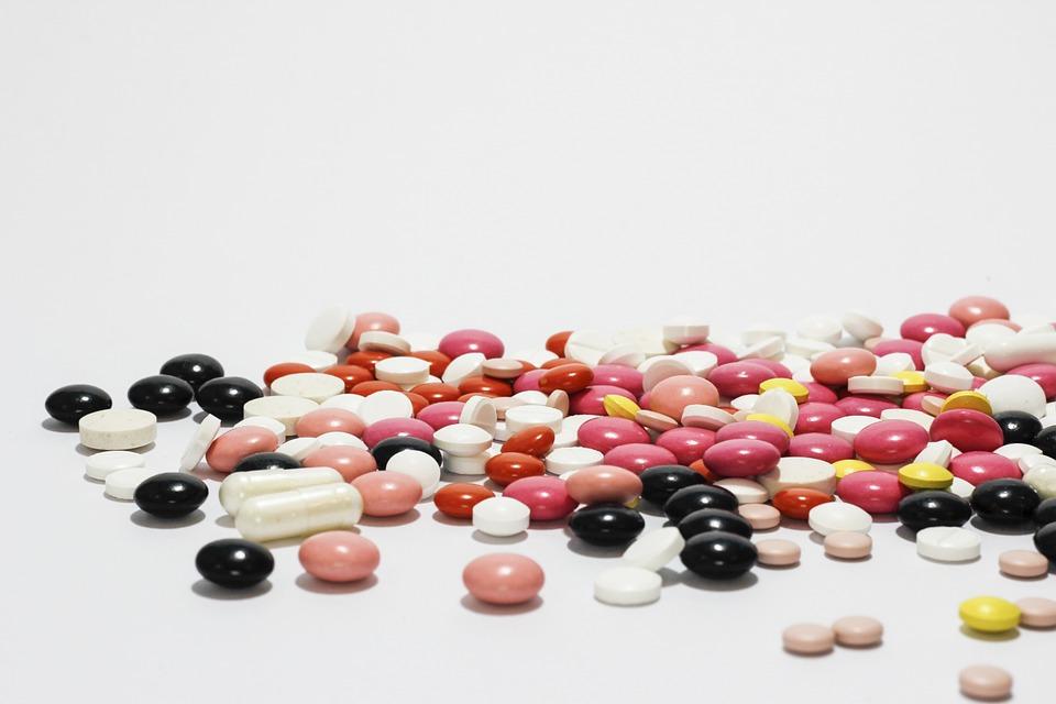 spilled out pills