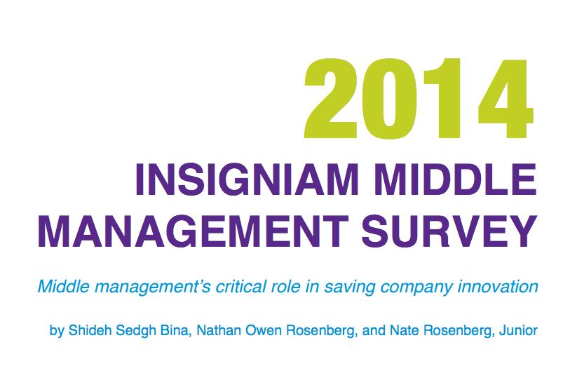 2014 Insigniam Middle Management Survey