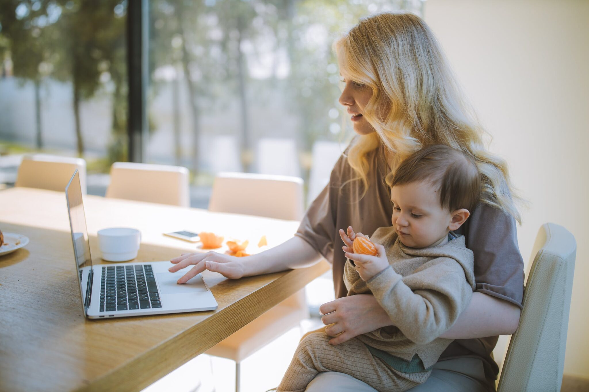 The New Work-Life Balance: Working from Home With Children