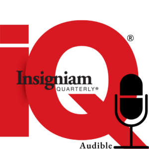 Insigniam Podcasts and Audible Logo
